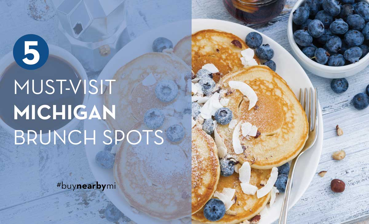 Five Must-visit Michigan Brunch Spots