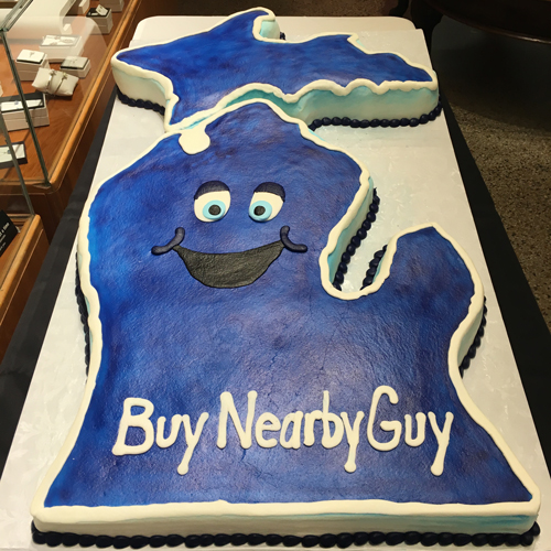 Buy Nearby Guy Cake From Whipped Bakery