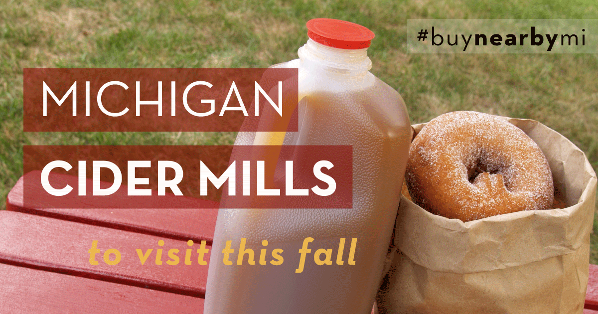 It's Easy To Buy Nearby When You Visit Your Local Cider Mill