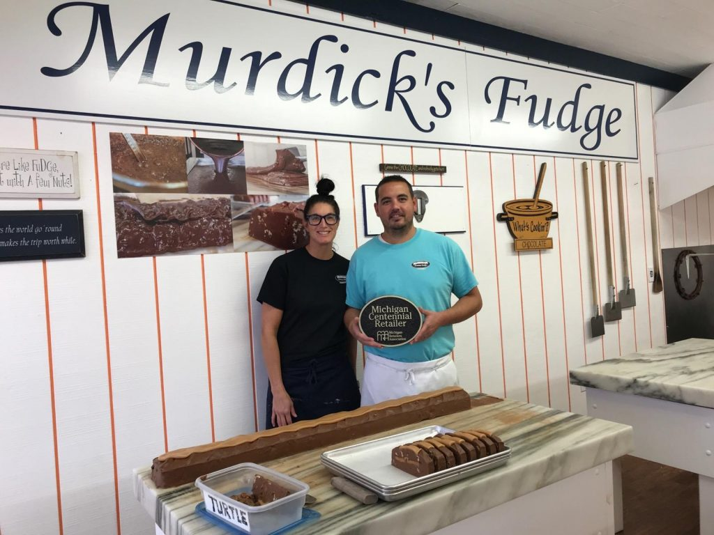 Murdick's Fudge, Mackinaw City Named Centennial Retailer