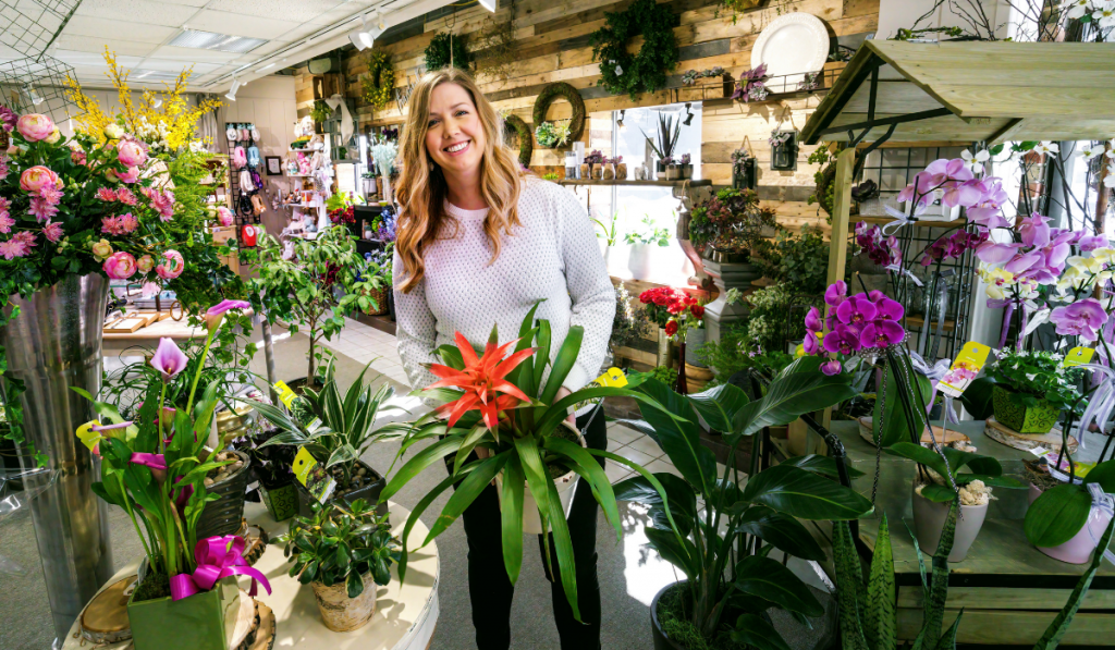 Jennifer Stehouwer in Ball Park Floral & Gifts