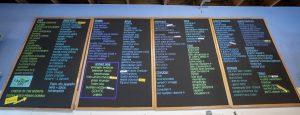 cheese board menu